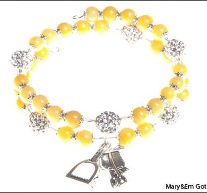 Yellow Dandelion Charm
